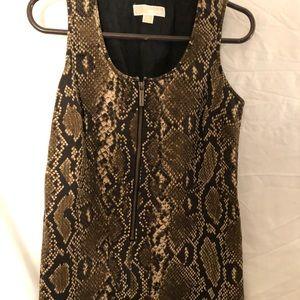💕3/$30 MICHAEL Kors Animal print Sheath dress